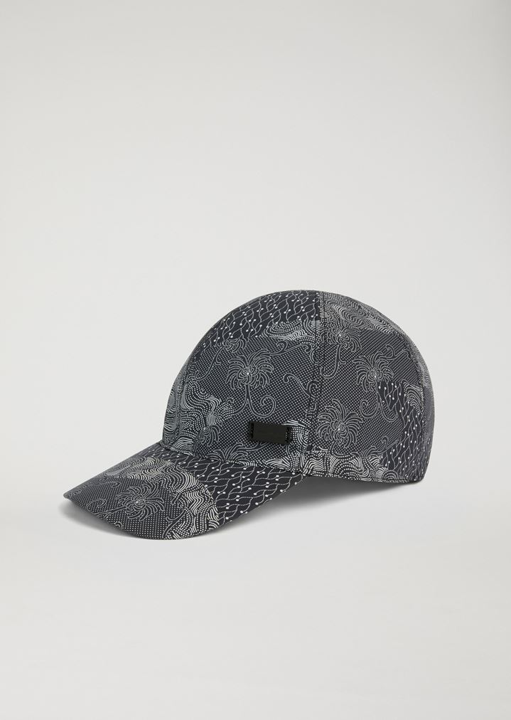 Baseball cap in printed cotton   Man   Emporio Armani 82f623804c4