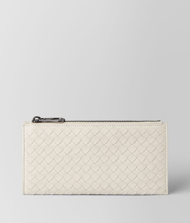 BOTTEGA VENETA MIST SOFTLUX CALF MULTI-FUNCTIONAL CASE Zip Around Wallet Man fp