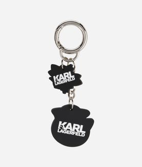 KARL LAGERFELD CAPTAIN KARL FUN KEYCHAIN