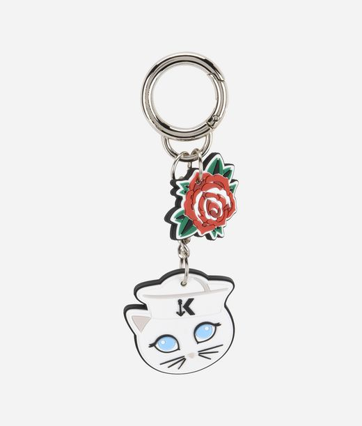 KARL LAGERFELD Captain Karl Fun Keychain 12_f