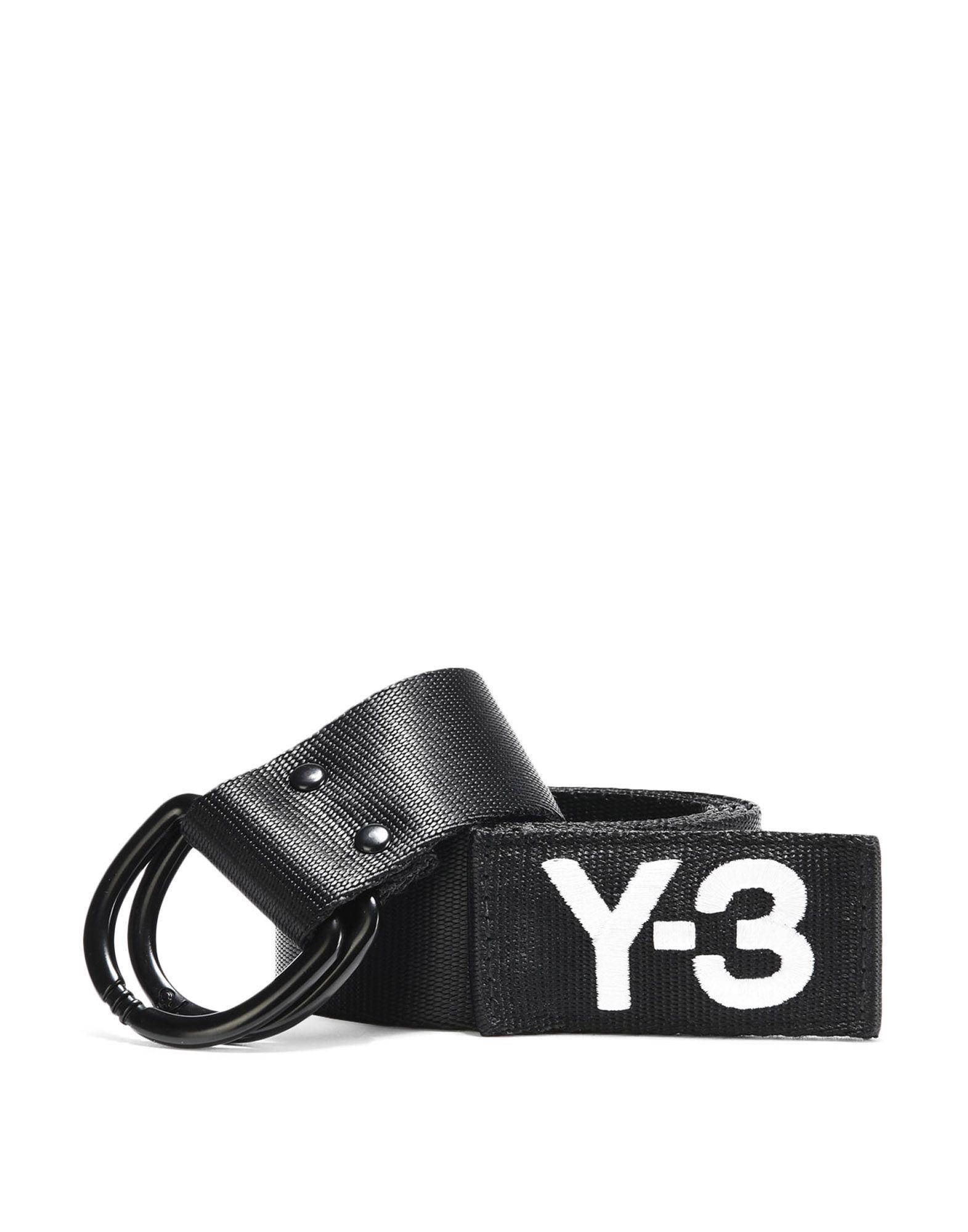 Y-3 Y-3 Logo Belt Belt E f