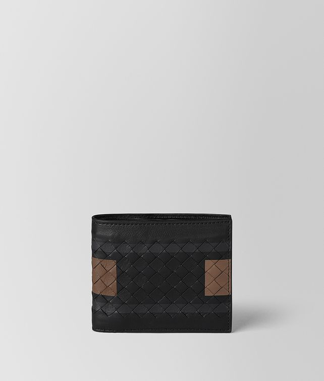 BOTTEGA VENETA NERO SOFTLUX CALF BI-FOLD WALLET Bi-fold Wallet Man fp