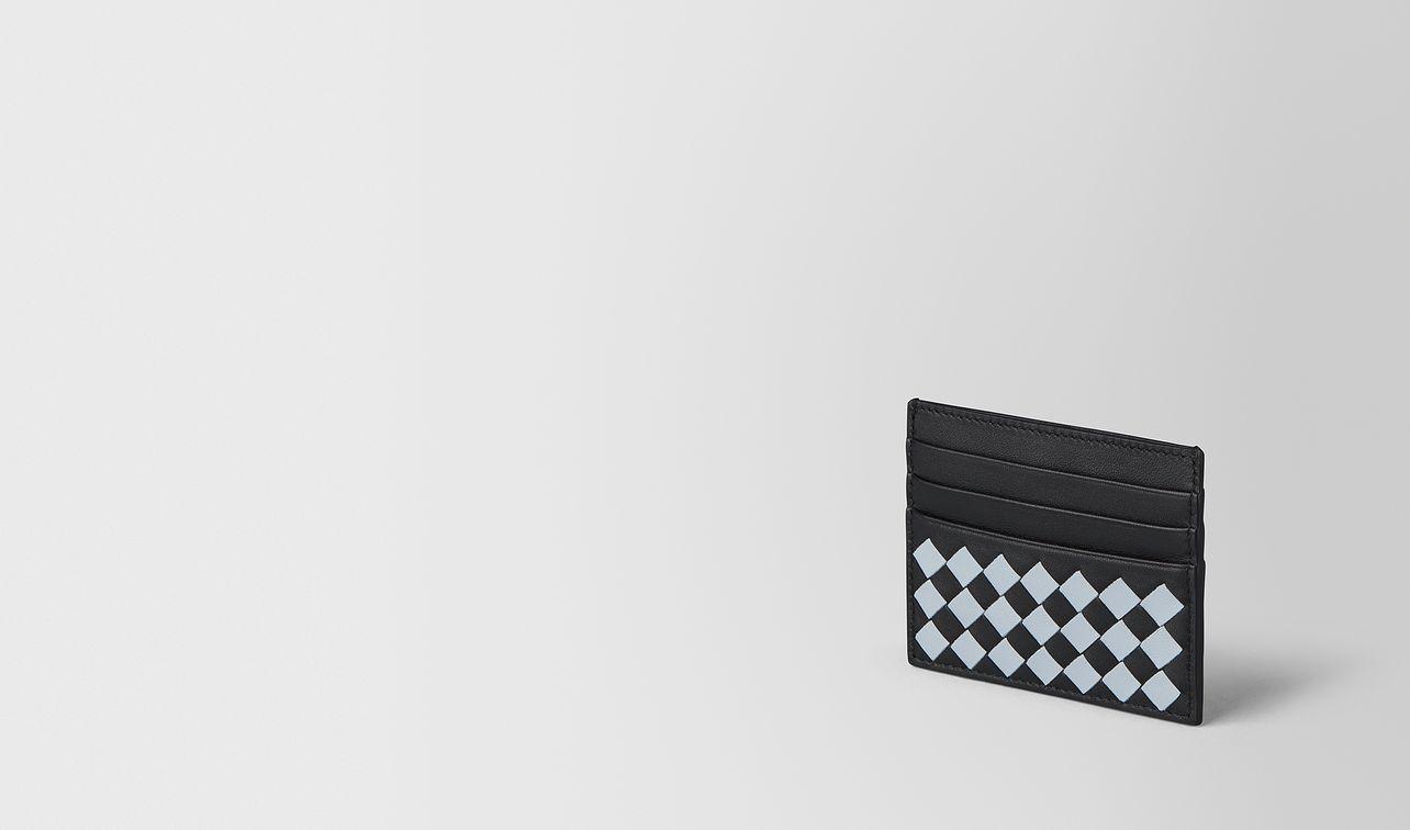 nero arctic intrecciato palio card case landing