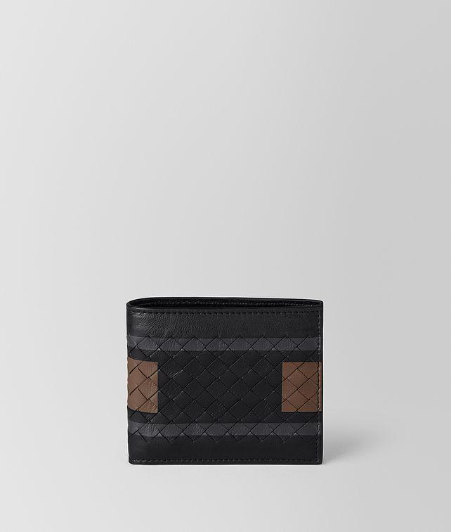 BOTTEGA VENETA NERO SOFTLUX CALF BI-FOLD WALLET Bi-fold Wallet [*** pickupInStoreShippingNotGuaranteed_info ***] fp