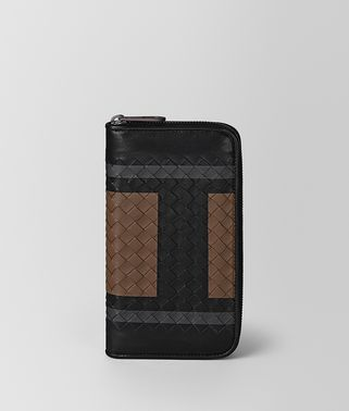 NERO SOFTLUX CALF ZIP-AROUND WALLET