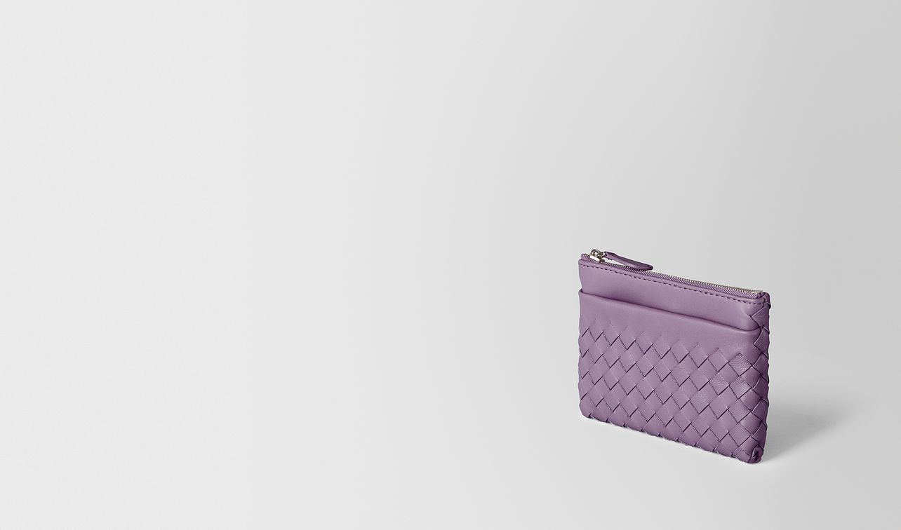 lilac intrecciato nappa key case landing