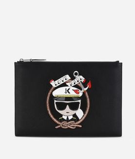 KARL LAGERFELD CAPTAIN KARL POUCH