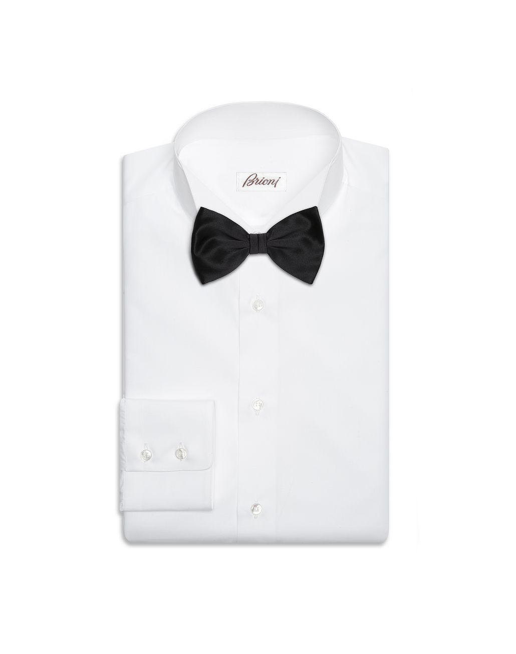 BRIONI Black Tied Bow Tie Bow Ties & Cummerbunds Man r