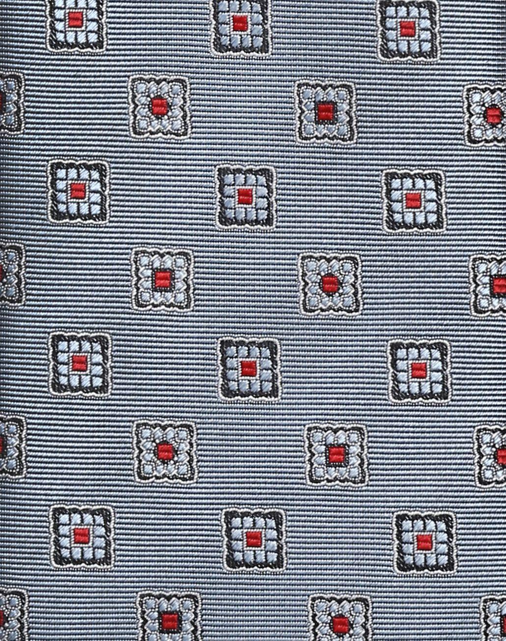 BRIONI Bluette Macro-Design Tie Tie Man d