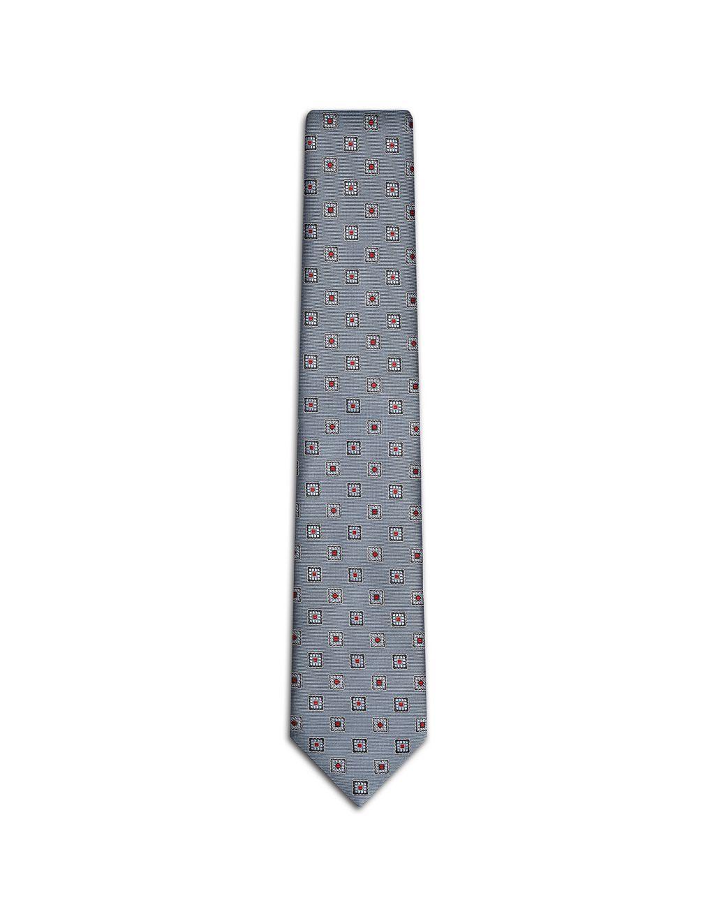 BRIONI Bluette Macro-Design Tie Tie Man f