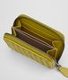 BOTTEGA VENETA CHAMOMILE INTRECCIATO NAPPA COIN PURSE Card Case or Coin Purse Woman ap