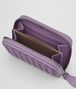 BOTTEGA VENETA LILAC INTRECCIATO NAPPA COIN PURSE Card Case or Coin Purse Woman ap