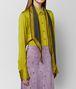 chamomile nero silk scarf Right Side Portrait