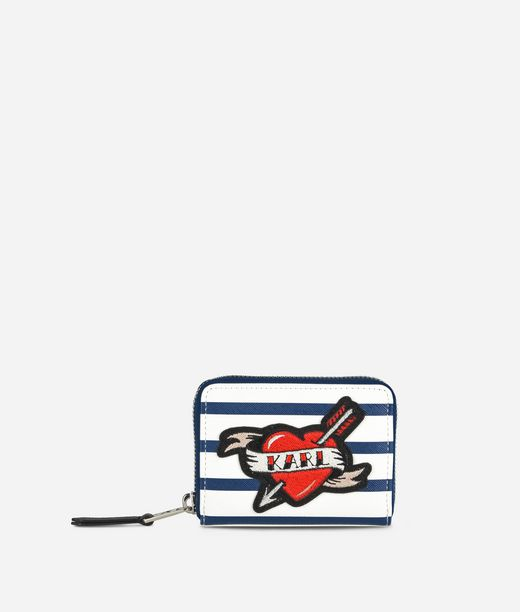 KARL LAGERFELD Captain Karl Small Wallet 12_f
