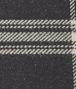 couverture clyde en laine black beige Photo détaillée de l'avant