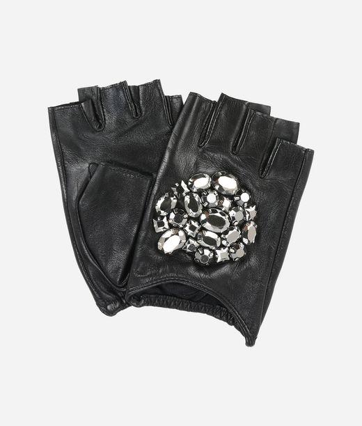 KARL LAGERFELD Geo Stone Handschuhe 12_f