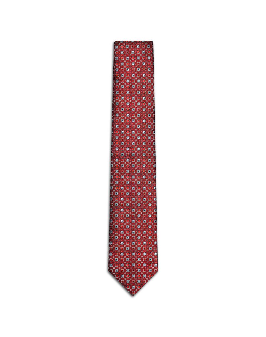 BRIONI Bordeaux and Gray Tie Tie Man f