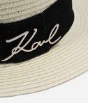 KARL LAGERFELD K/Signature Strohhut 8_d