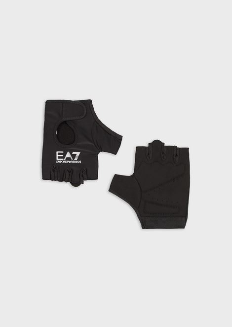 Gym gloves with logo