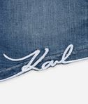 KARL LAGERFELD Signature denim shorts 8_d