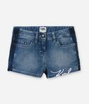 KARL LAGERFELD Signature denim shorts 8_f