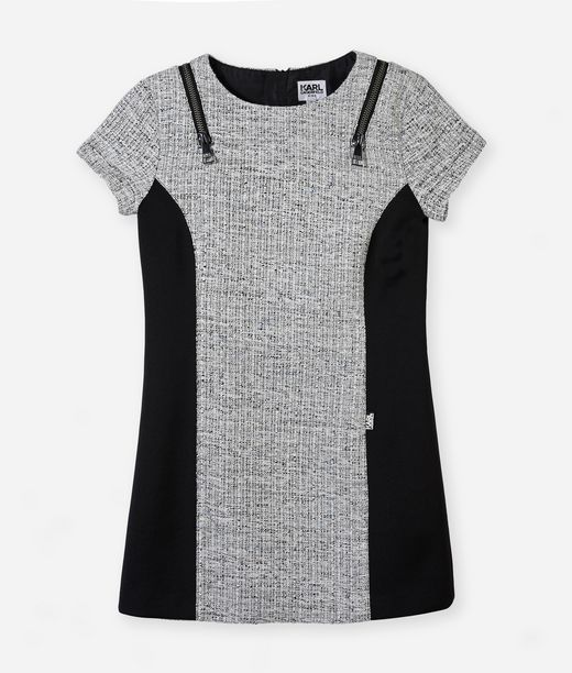 KARL LAGERFELD Bouclé dress 12_f