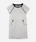 KARL LAGERFELD Fishbone bouclé dress 8_f