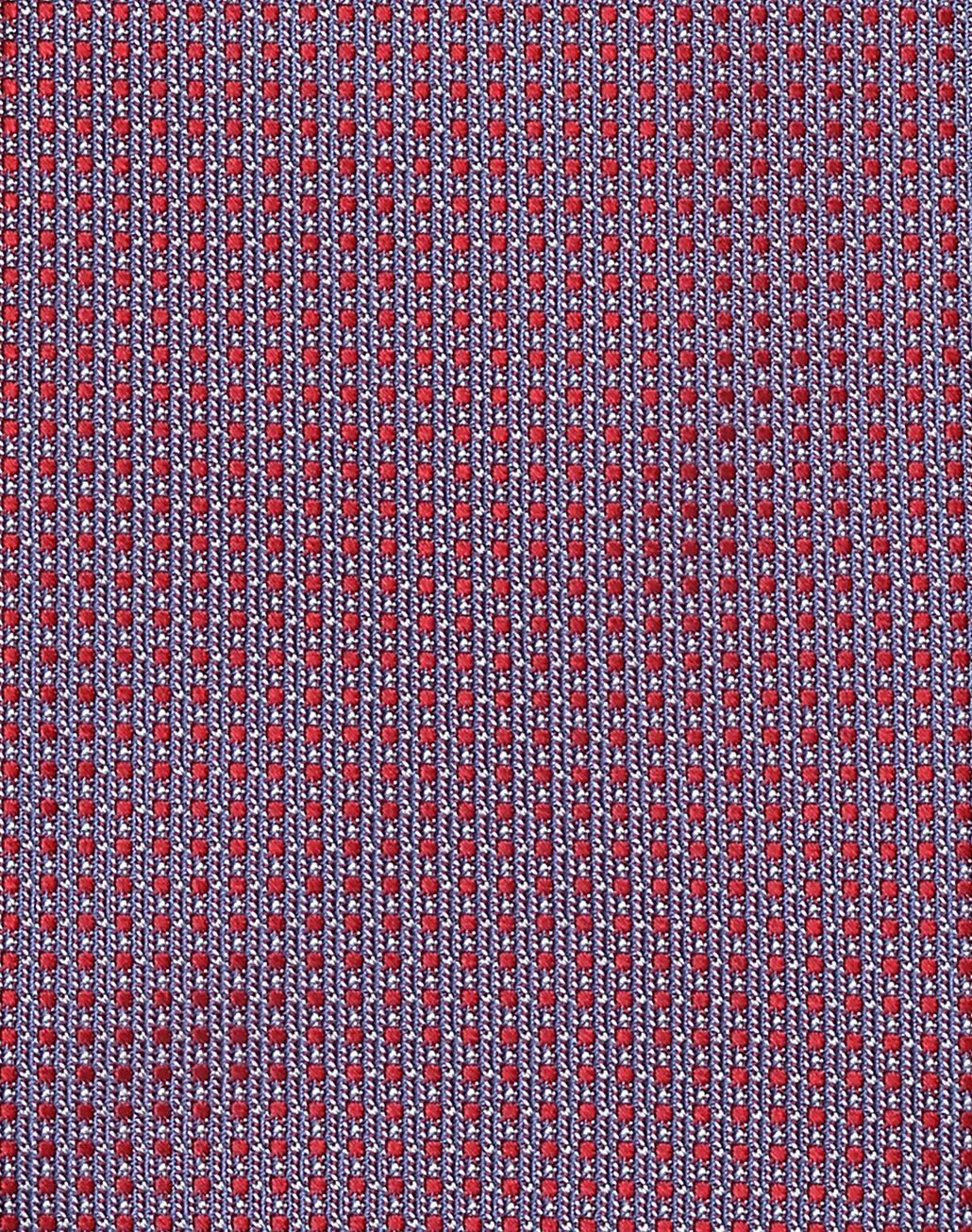 BRIONI Red and Sky-Blue Dotted Tie Tie Man d