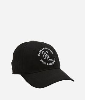 KARL LAGERFELD KL LOGO CAP