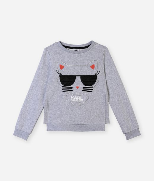KARL LAGERFELD Choupette graphic Sweat 12_f