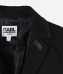KARL LAGERFELD Black Karl Blazer 8_d