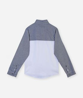 KARL LAGERFELD COLORBLOCK SHIRT