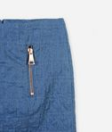 KARL LAGERFELD Kuilted denim look skirt 8_d