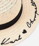 KARL LAGERFELD Ears Straw Hat 8_d