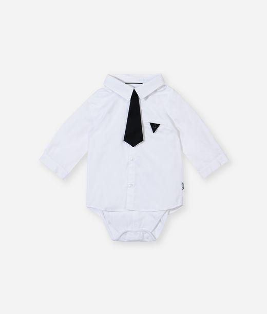 KARL LAGERFELD Ikonik tie newborn shirt 12_f