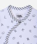 KARL LAGERFELD Newborn pajama and hat 8_d