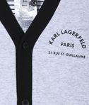 KARL LAGERFELD Reversible newborn cardigan 8_d