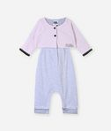 KARL LAGERFELD Newborn overall with cardigan 8_r