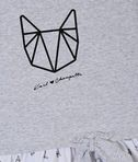 KARL LAGERFELD Choupette Origami dress 8_d