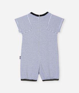 KARL LAGERFELD LOVE FROM PARIS SHORT ROMPER