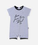 Love From Paris short baby grow