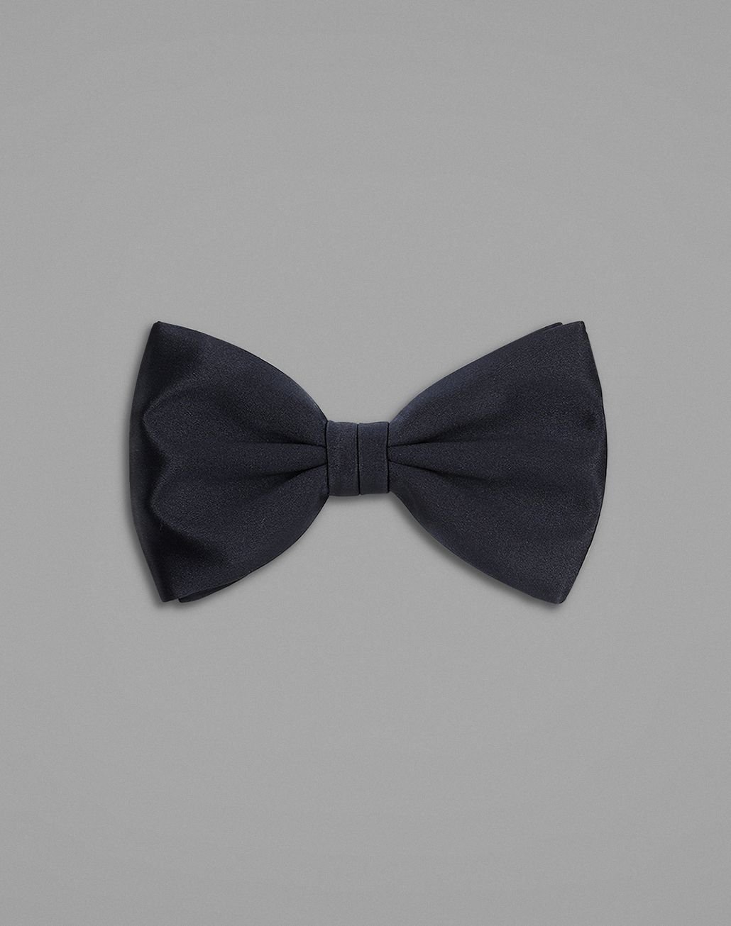 BRIONI Blue Tied Bow Tie Bow Ties & Cummerbunds Man f