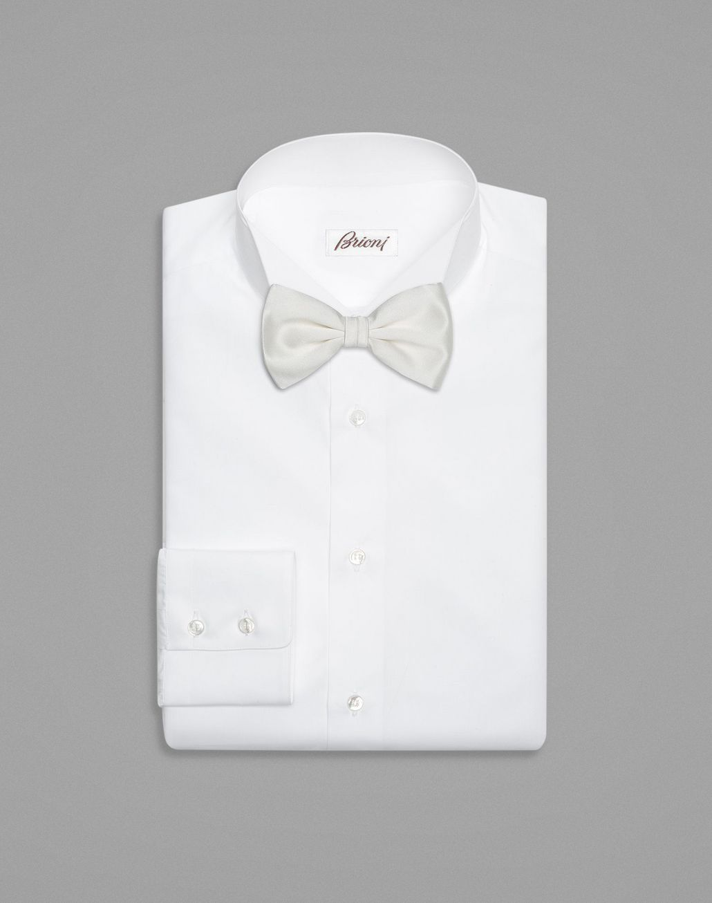 BRIONI White Tied Bow Tie  Bow Ties & Cummerbunds Man r