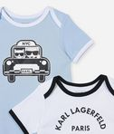 KARL LAGERFELD 2-pack boy rompers 8_d