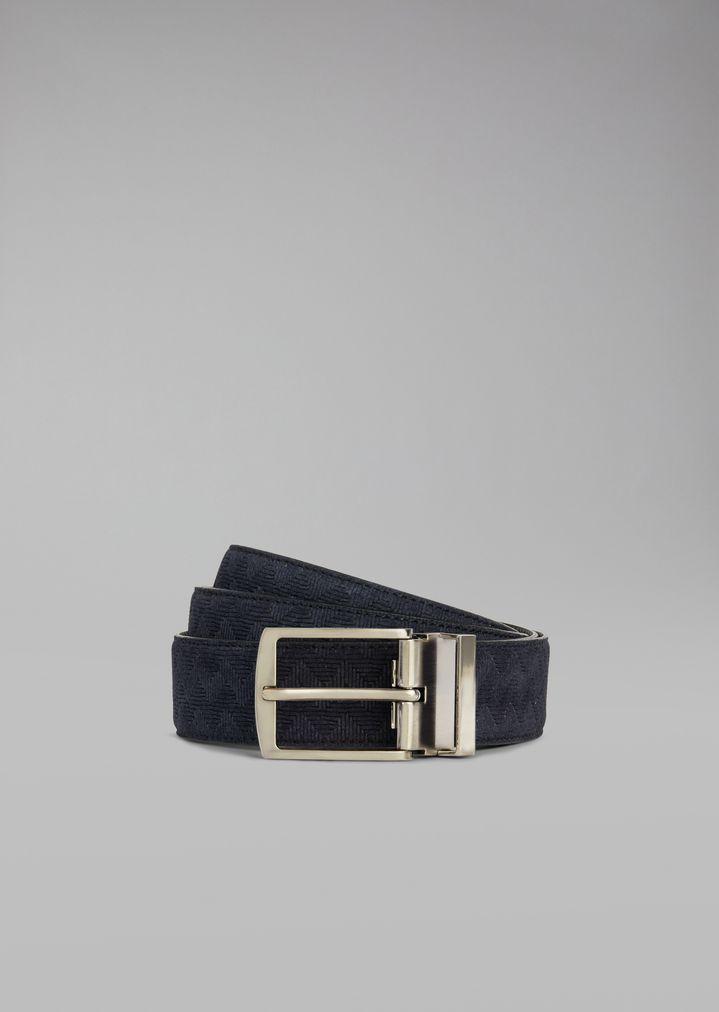 23e5da7b50 Belt in crust leather with vinegar print
