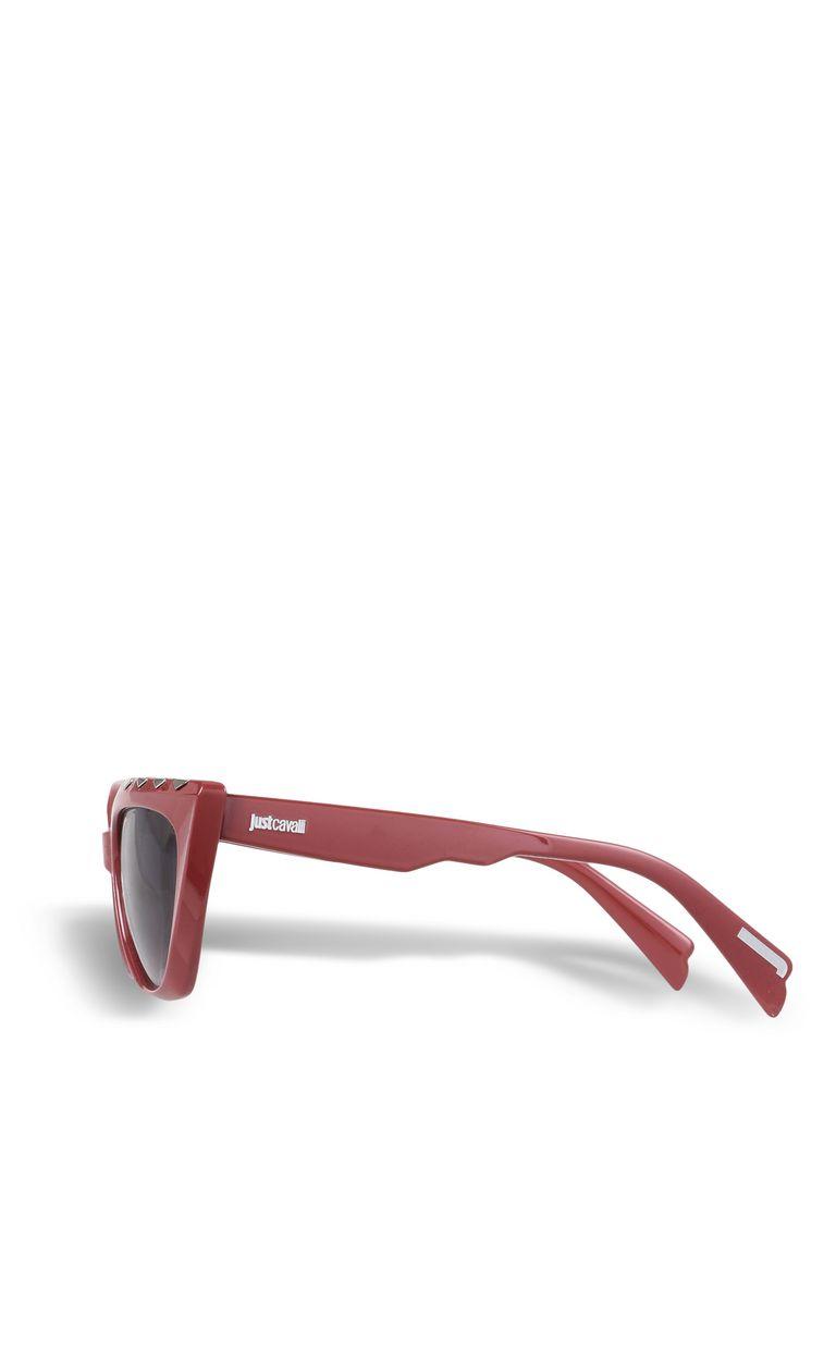 JUST CAVALLI Elongated red sunglasses SUNGLASSES Woman d