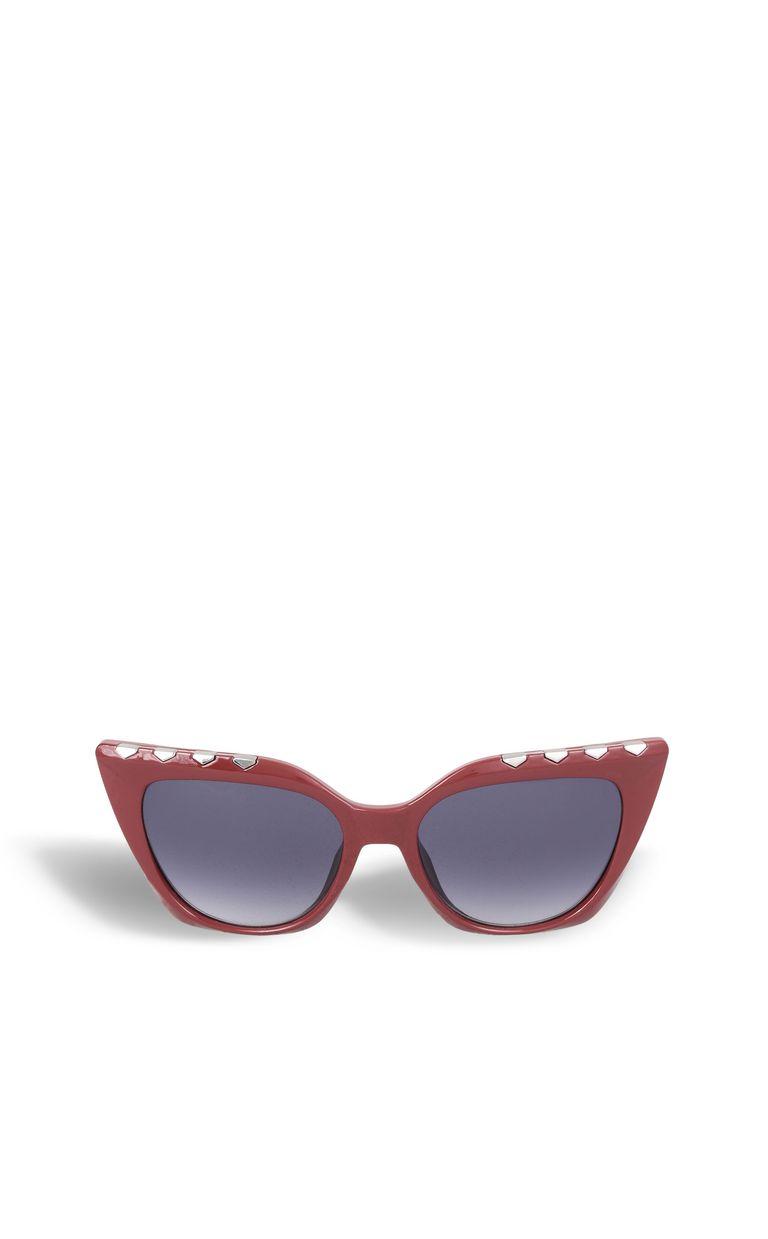 JUST CAVALLI Elongated red sunglasses SUNGLASSES Woman f