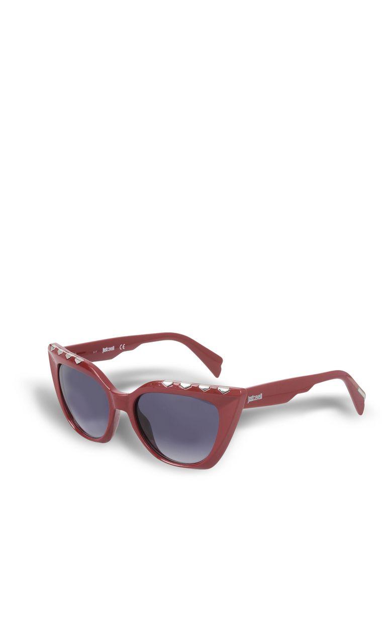 JUST CAVALLI Elongated red sunglasses SUNGLASSES Woman r