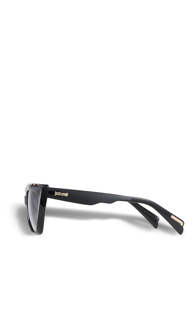 JUST CAVALLI Occhiale nero forma allungata OCCHIALI DA SOLE Donna d