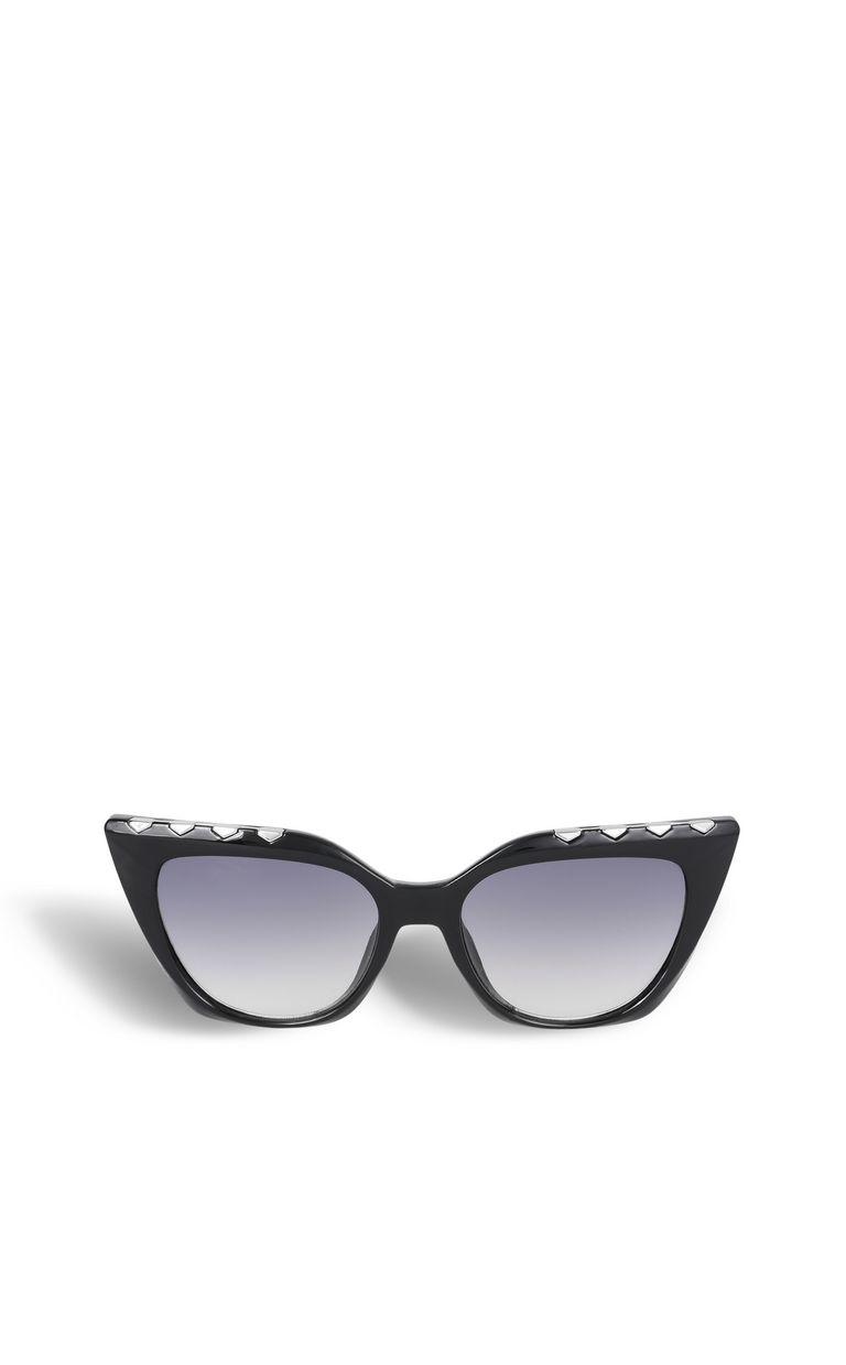 JUST CAVALLI Elongated black sunglasses SUNGLASSES Woman f